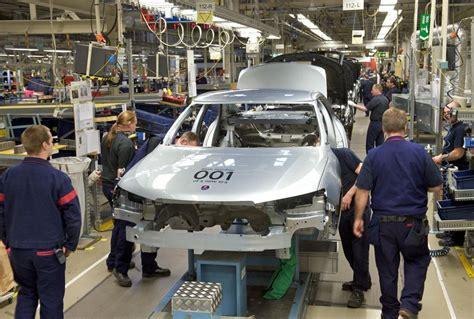 ξεκίνησε πάλι το εργοστάσιο της saab autoblog gr