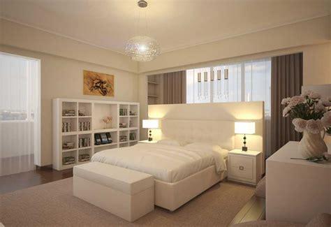 wallpaper dinding kamar tidur klasik desain interior kamar tidur klasik warna krem dan putih
