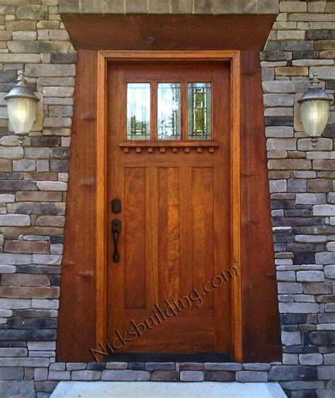 Exterior Craftsman Doors Exterior Door Gallery Wooden Door Pictures