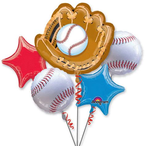 baseball balloon bouquet – the cupcake delivers