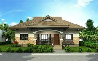 good Traditional Two Story House Plans #9: one-storey-house-design-PHD-2015002-view1.jpg