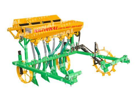 Zero Till Planter by National Zero Till Multi Crop Planter For 2 Wheel Tractor