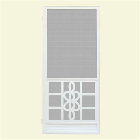 30 in x 80 in wood classic screen door wcla30 the home