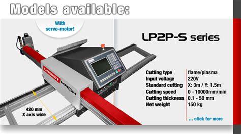 Software Lp2p lasermach news portable cnc cutting machine