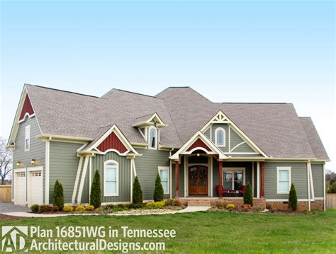 tennessee house plans house plan 16851wg client built in tennessee