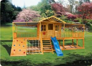 best backyard play structures sandlewood lodge cubby house playground equipment