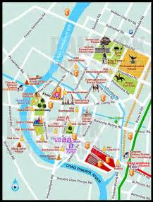bangkok map tourist attractions thailand and laos journey 25 bangkok tourist attractions