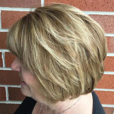 choppy bob for over 60 60 most prominent hairstyles for women over 40