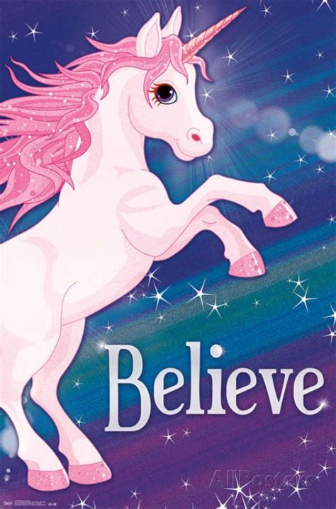 believe in miracles a unicorn coloring book unicorn coloring books volume 1 books rainbow unicorn poster believe print 22x34 unicorn
