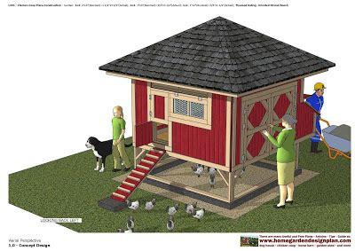 Coop Wei by Home Garden Plans