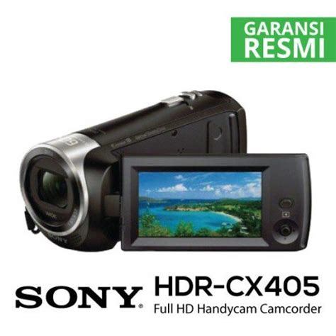 Item Handycam Sony Hdr Cx405 Resmi Sony Indonesia jual sony hdr cx405 hd handycam harga dan spesifikasi