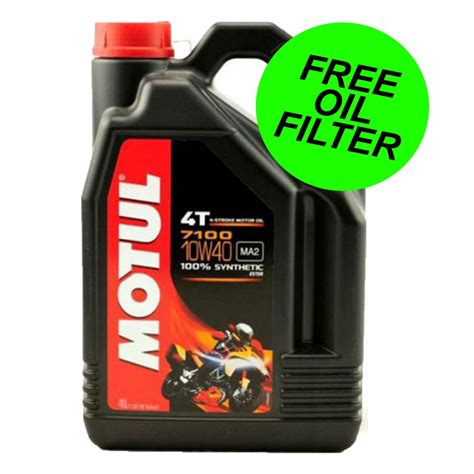 Motul 7100 Synthetic Ester 10w40 Api Sn 100 Originale motul 7100 10w40 fully synthetic motorcycle 4 litres