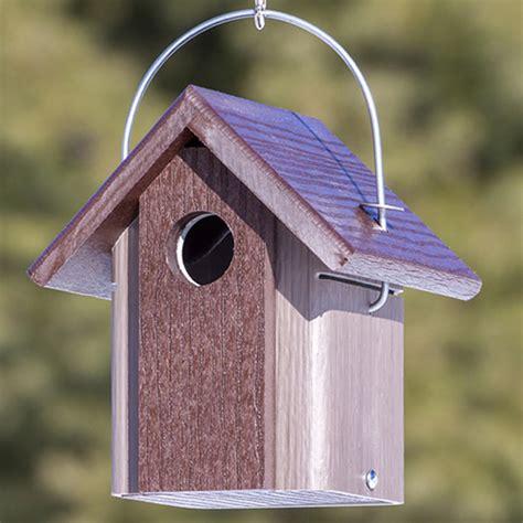 duncraft com duncraft hanging chickadee bird house