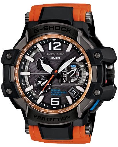 Gshock Gpw1000 Orange orange g shock aviator models