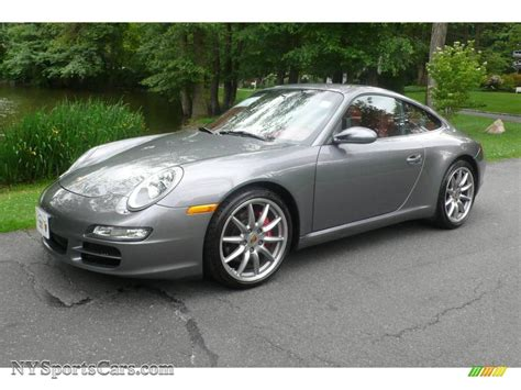 grey porsche 911 2006 porsche 911 carrera s coupe in seal grey metallic