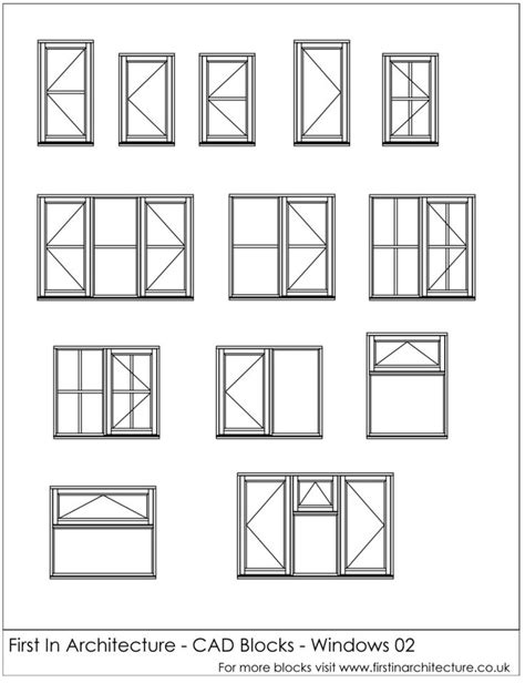 window templates for autocad 1000 images about 2d wireframe autocad on pinterest
