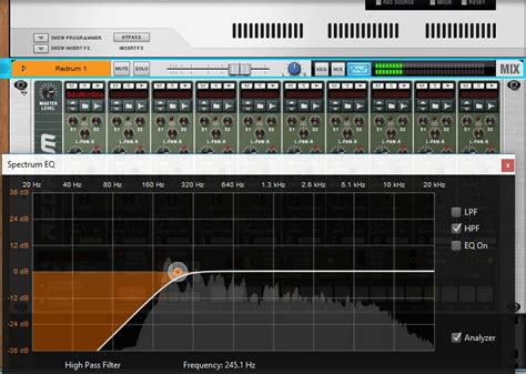 high pass filter bass drum mixing and mastering in reason mixing and mastering reason