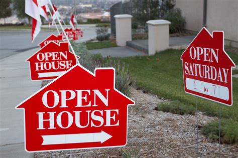 open house real estate signs 14 steps to a flawless open house personal finance us news