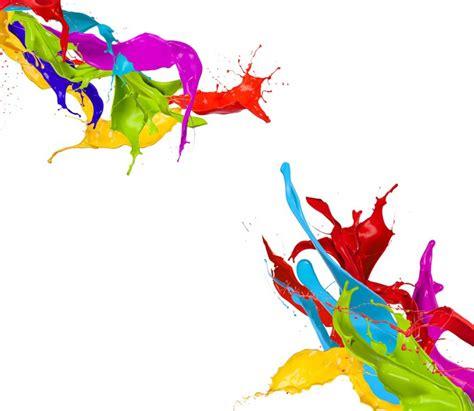 imagenes sin fondo blanco paint fotomural salpicaduras de pintura de colores aislados