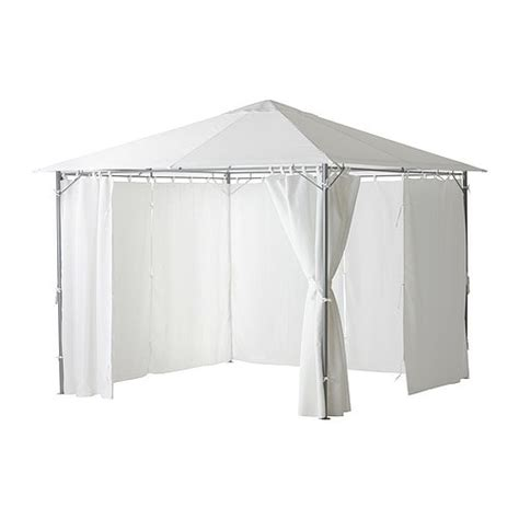 ikea gazebo karls 214 gazebo with curtains ikea