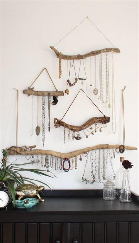 Handmade Hangers - picture of handmade driftwood jewelry hangers