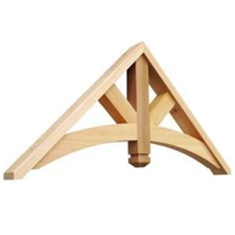 Decorative Exterior Wood Brackets Gable Trim On Shed Plans Exterior Houses And