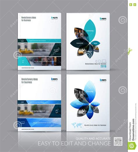 design report magazine brochure template layout collection cover design annual