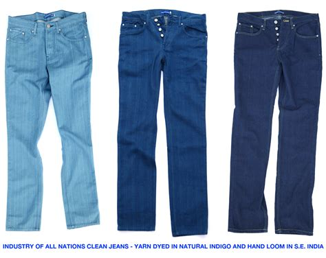 indigo from the ioan clean denim clothing