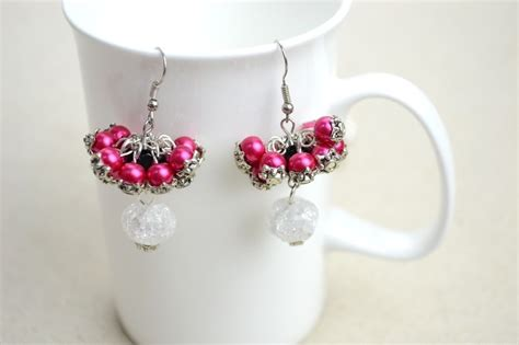 Make Handmade Earrings - diy bridesmaid jewelry earrings out of pearls 183 how to