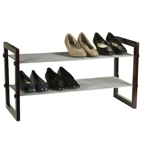 stackable shoe rack 2 tier in shoe racks