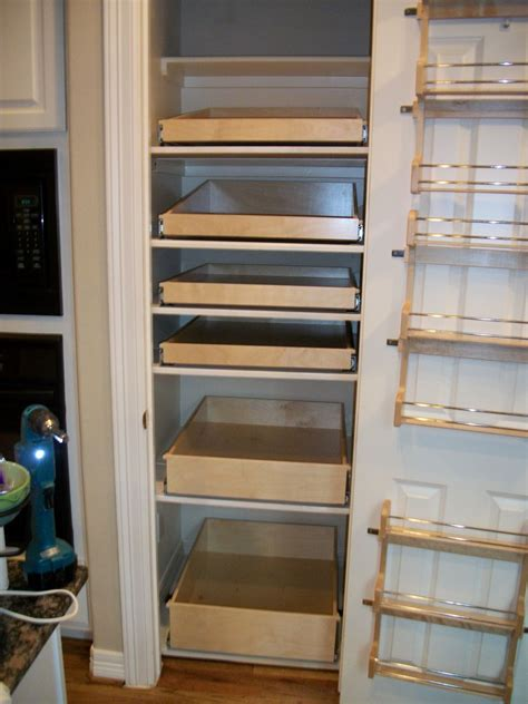 Home Depot Pantry Shelves by Pull Out Shelves For Kitchen Captainwalt