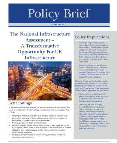 14 Policy Brief Templates And Exles Pdf Doc Policy Brief Template