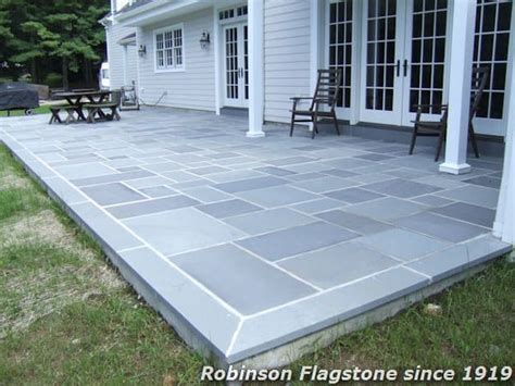 Blue Flagstone Patio by Robinson Flagstone Thermal Bluestone Robinson Flagstone