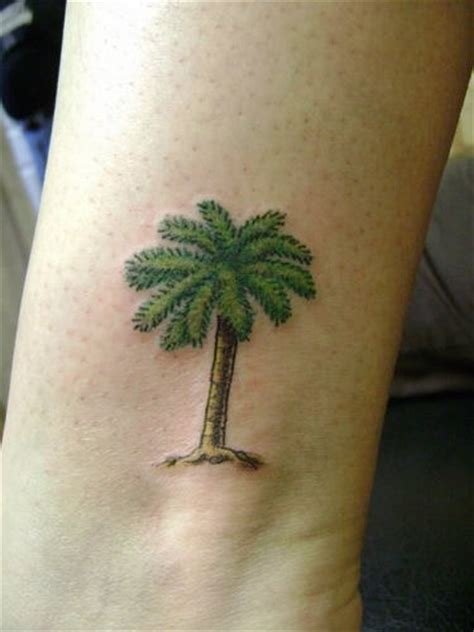 palm tree ankle tattoo palm tree images designs
