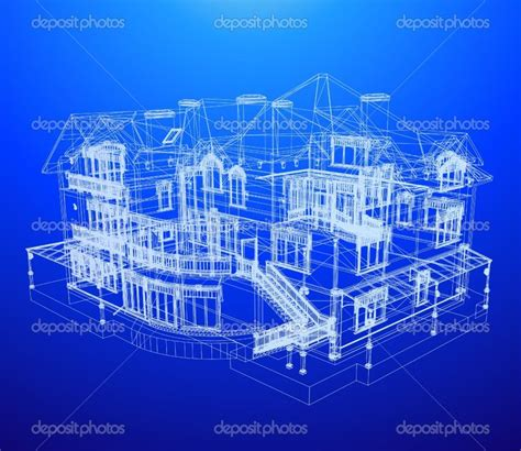building blueprint depositphotos 4355569 architecture blueprint of a house