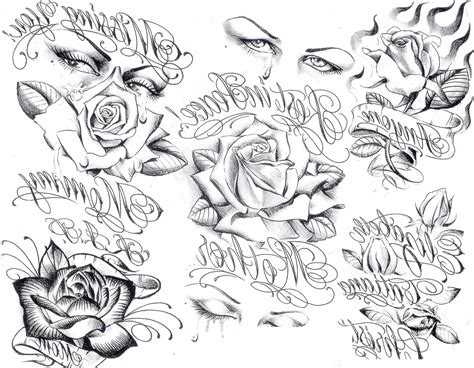 gangster fonts for tattoos font generator tattoos free