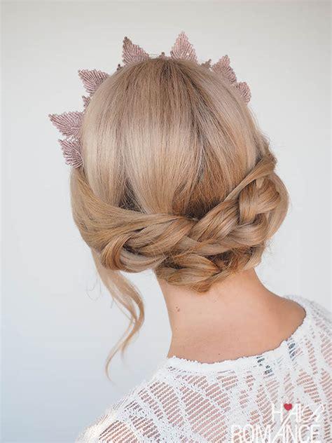 photos on how to dress braids how to wear a headpiece and a braid tutorial hair romance