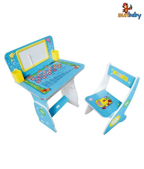 Sunbaby Multi Utility Blue Student Desk Buy Sunbaby Blue Student Desk