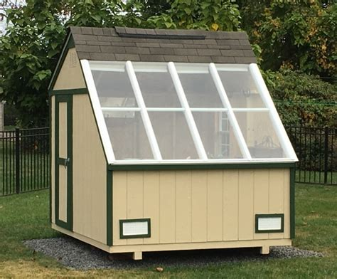 Green House Sheds by Greenhouse Shed Solar Garden Building For Storage
