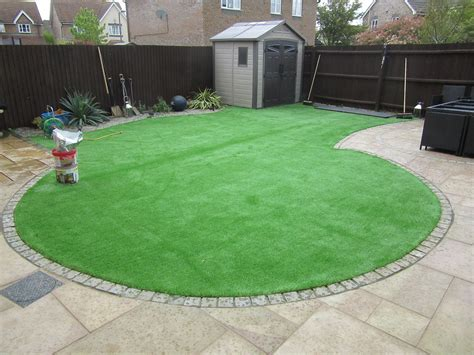 pattern in artificial grass project golden gardens