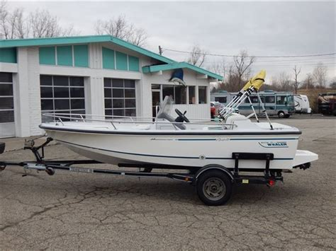 whaler jet boat sale boston whaler rage 15 jet 115hp 1995 for sale for 5 995
