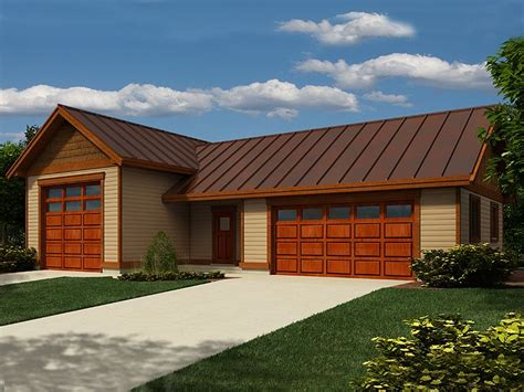 Large Garage Plans by Rv Garage Plans Rv Garage Plan With 2 Car Garage And