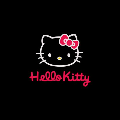 wallpaper hello kitty black hello kitty wallpaper black wallpapersafari