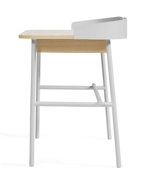 bureau de victor bureau victor gris clair bois naturel hart 244