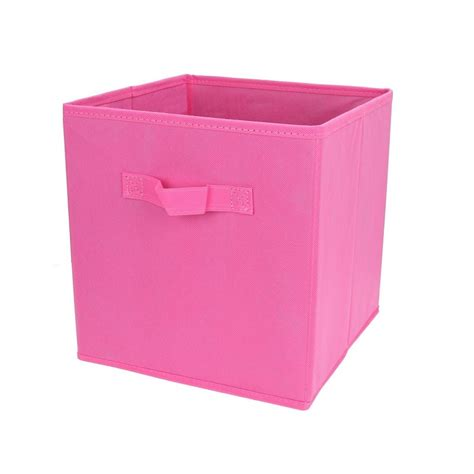 Cube Storage Fabric Drawers by Pink Fabric Cube Storage Bins Foldable Premium Quality