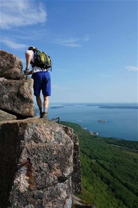 final stretch of the precipice trail picture of