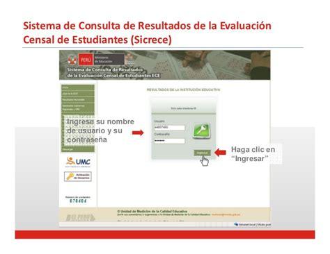 consulta de resultados de la evaluacion docente bcs 2015 resultados de la evaluaci 243 n censal de estudiantes 2011