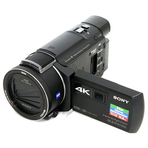 Sony Fdr Axp55 Axp 55 used sony 64gb fdr axp55 4k handycam with built in projector pal s n 3737387 excellent