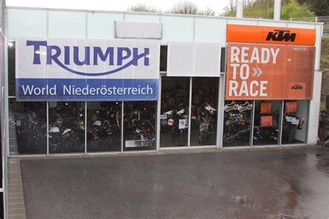 Triumph Motorrad Eckl by Ausgiebig Bikes Triumph Und Ktm Testen Beim Eckl