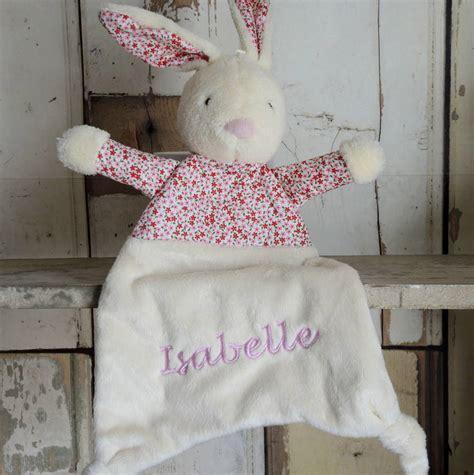 rabbit comforter blanket personalised petal bunny comforter blanket by the alphabet